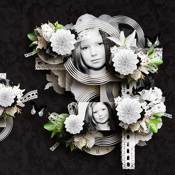 Kit used:  Black 'n White touch by Didine Designs  http://www.digiscrapbooking.ch/shop/index.php?main_page=index=22_175    Template used:  Happy Time 5 by Eudora Designs  http://www.myscrapartdigital.com/shop/index.php?main_page=product_info=24_68_id=815