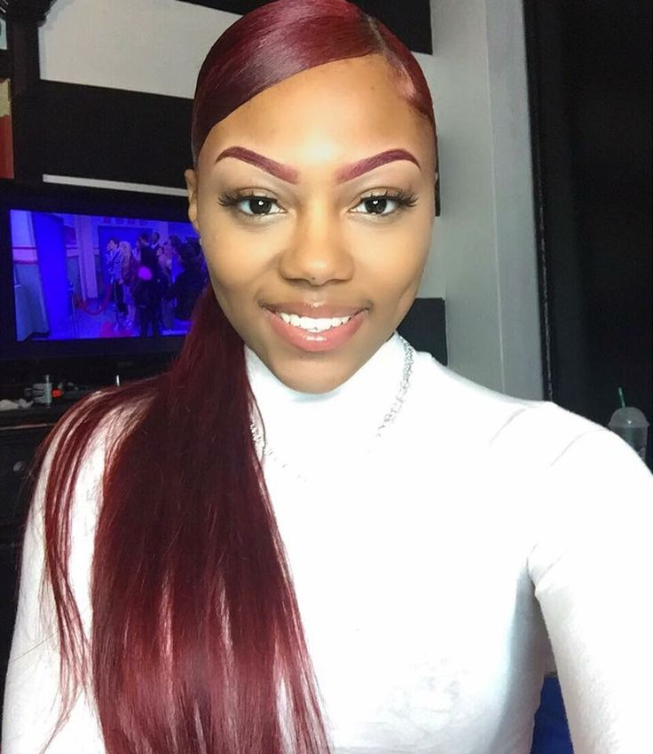 Superb 1000 Ideas About Red Weave On Pinterest Red Weave Hairstyles Short Hairstyles Gunalazisus