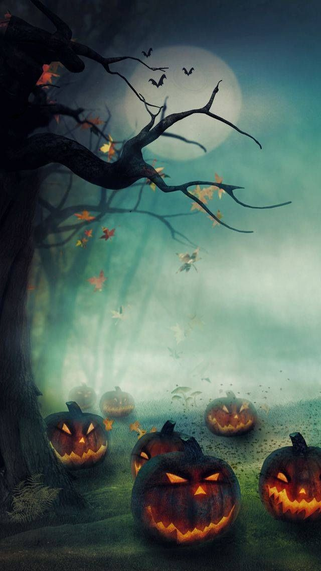 97 best halloween wallpaper images on pinterest happy - Scary wallpaper iphone ...