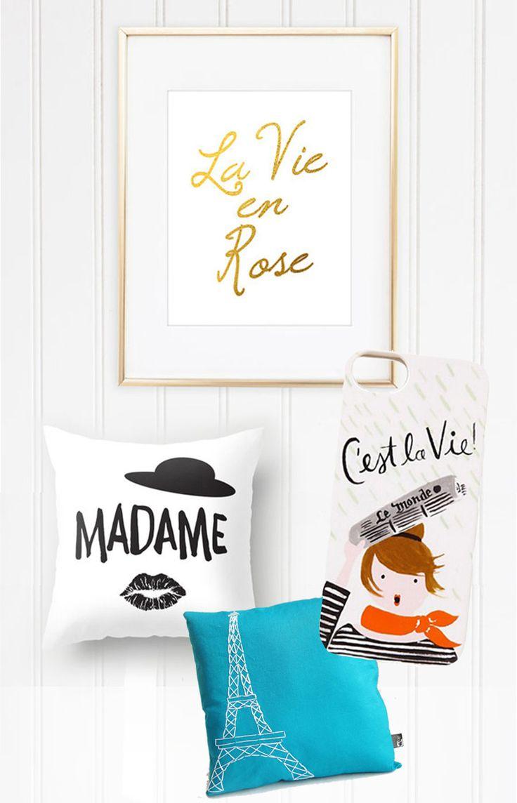 Francês na decoração e moda