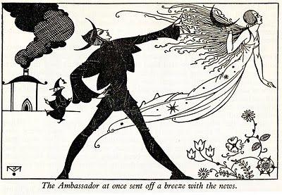 The Joyce Mercer 1930s Vintage Children's Illustrations. Pen and ink. Full blog post at Vintage copywriting. #Vintage