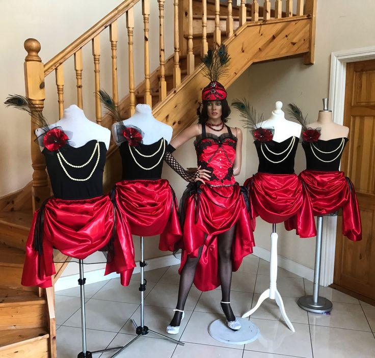 Theatrical costumes designed and made by Karolina Sikorska #Bebago #burlesque #theatre #musical #america