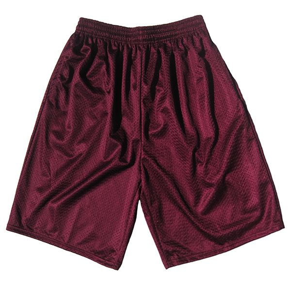 Adult TM 9″ Poly Tricot Mesh Short With Pockets   Dodger Industries