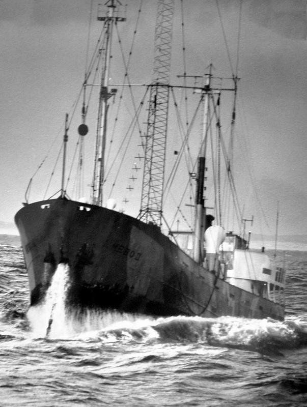 Radio Northsea in high seas
