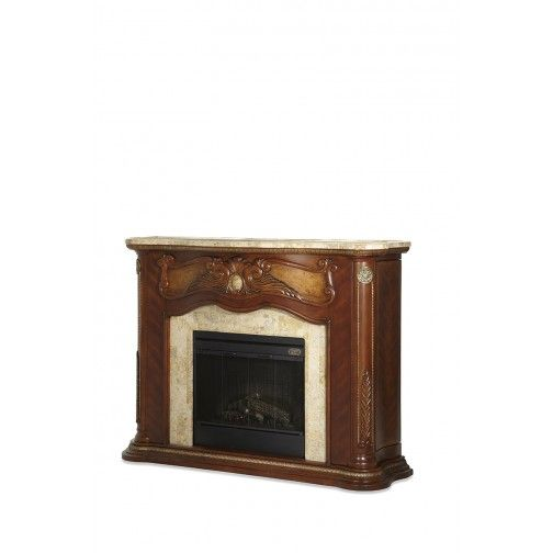 Aico Cortina Fireplace Marble Top