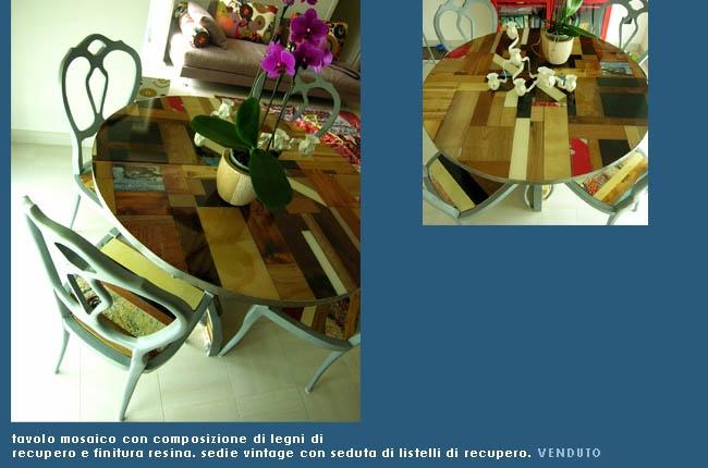 Cerca di andare oltre: oltre l'allestimento terrificante, la forma del tavolo, l'abbinata sbagliata con le sedie e l'orribile scatto fotografico. Ci resta l'idea, che è molto bella :-)