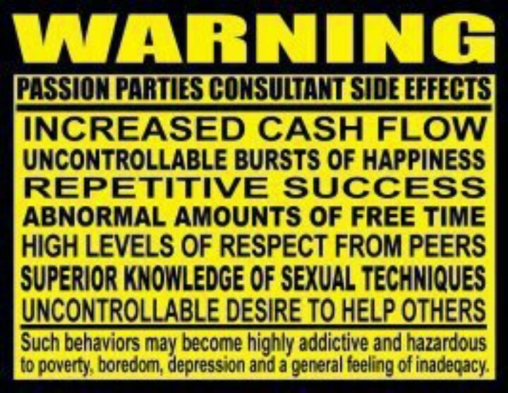 Amazing Income Opportunities....JOIN MY TEAM!!!! Passion Parties by Lindsay www.lindsayw.yourpassionconsultant.com text:  705-255-4211 Lindsay.passionp@shaw.ca