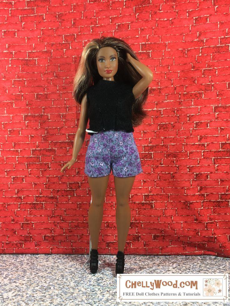 58 besten Curvy Barbie, Tall Barbie, and Petite Barbie FREE Sewing ...