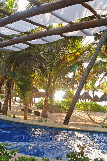 One of my favorite spots at the Catalonia Royal Tulum!!! I want to go back!!!