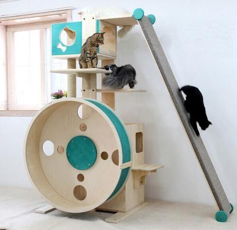 Hpw To Make A Cat Scratchpost