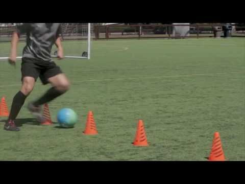 Football Training Drills: Soccer Dribbling Drills for Beginners and Kids
