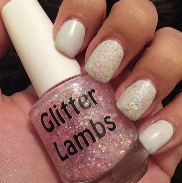 Cotton Candy Satin Fingernail Polish: 31 Best Its Snowing Cotton Candy Nail Polish GlitterLambs