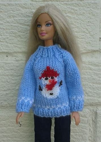 Free&Easy Barbie Doll Pattern - Bing images   Sweater ...
