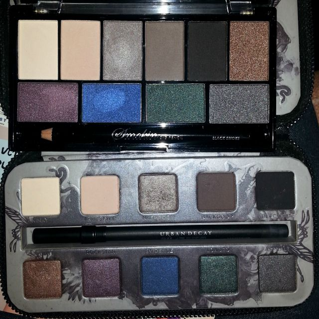 MUA vs. Urban Decay | Rambling of a Beauty Blogger @Brittany Starkey  a UK makeup brand that is SUPER cheap and has this dupe for Urban Decay, as well as the two naked palettes! Thought I would share ;P
