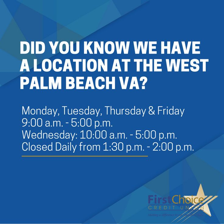 First Choice Credit Union West Palm Beach