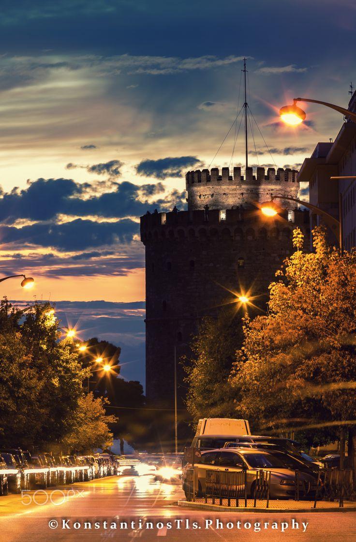 White Tower, Thessaloniki, Greece