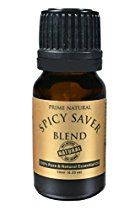 Spicy Saver Essential Oil Blend 10ml - Healthy Immunity Respiratory Protective Blend - Natural Pure and Undiluted Therapeutic Grade for Aromatherapy, Scents & Diffuser Sinus Allergy Cough Congestion