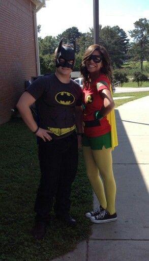 Batman & Robin couple costume