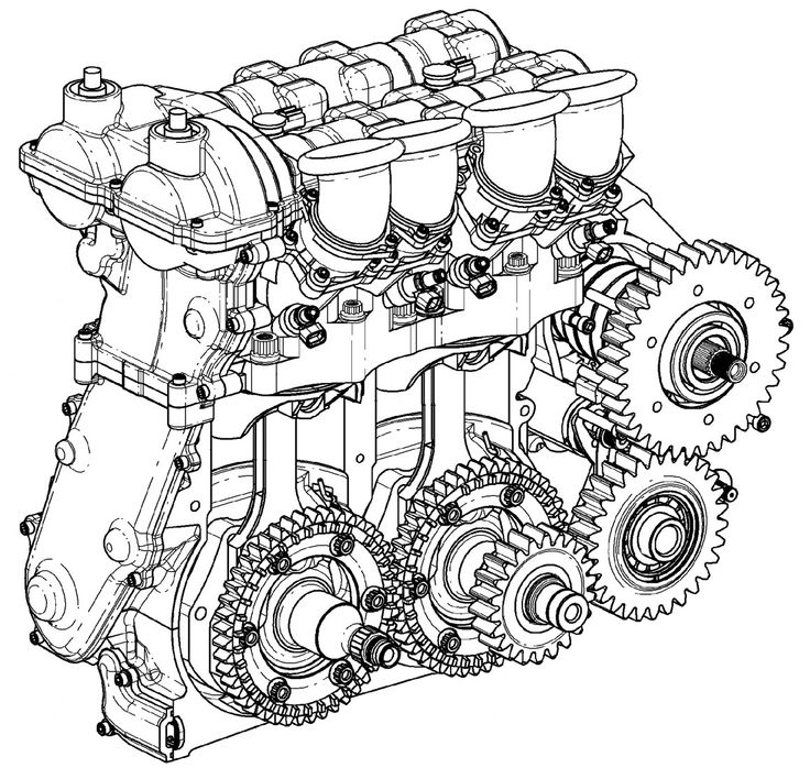 3eeaf2750d89fc48ae66fd5b19e646ac mechanical engineering diffrent strokes 326 best images about engine on pinterest toyota, chevy and bmw,1953 Solenoid Wiring The 1947 Present Chevrolet Gmc Truck