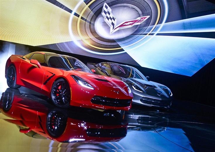 Corvette Stingray turns heads as it returns to Chevy's lineup (Photo: Tannen Maury / EPA)