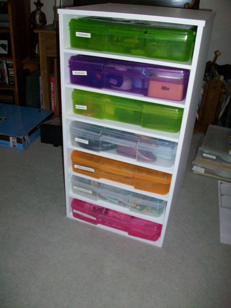13 Best Images About Scrapbook Storage Ideas On Pinterest