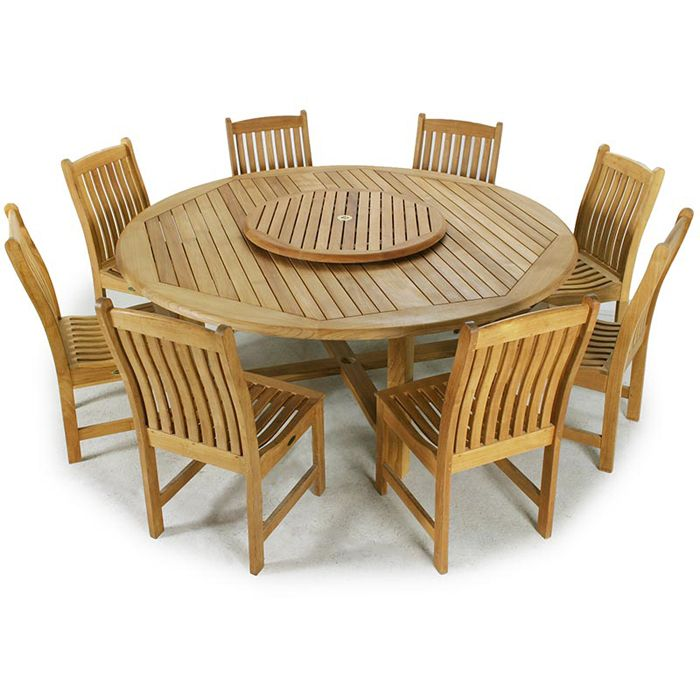 Buckingham Veranda Teak Wood Dining Set from Westminster Teak Furniture