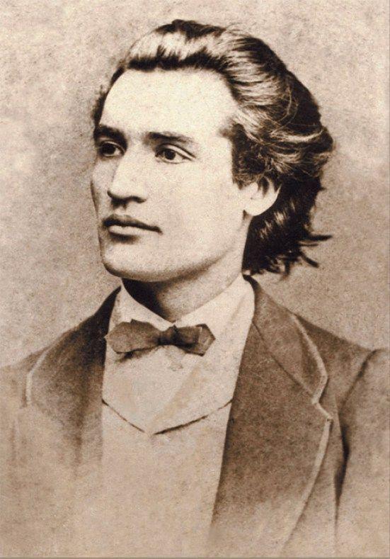 Mihai Eminescu, Praga, 1869, foto: Jan Tomás