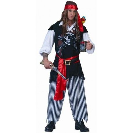Déguisement Pirate Sailor Deluxe Adulte Homme