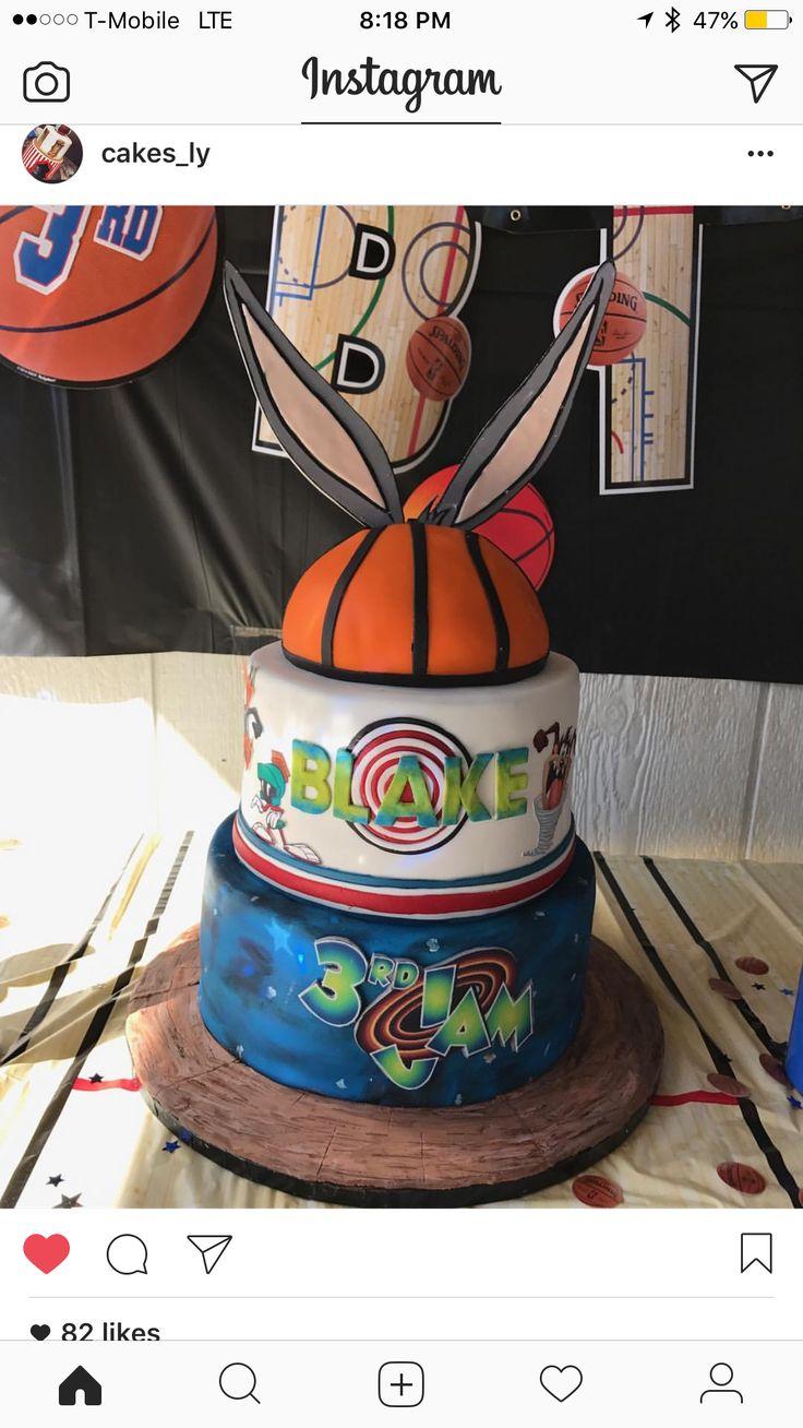 Space Jam Cake