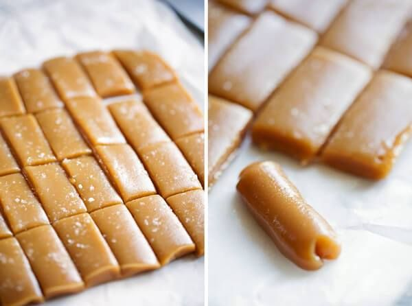 Ingredients:    1/4 cup butter  1/2 cup white sugar…  1/2 cup brown sugar  1/2 cup light Karo syrup  1/2 cup sweetened condensed milk        Directions:    1. Combine all ingredients.  2. Cook 6 minutes, stirring every two minutes.  3. Stir and pour into lightly greased dish.  4. Let