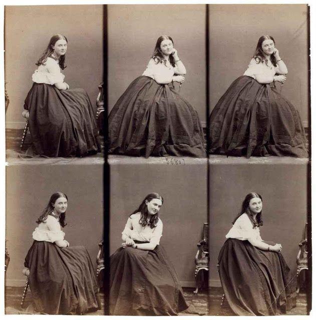 [A demi-mondaine is someone considered to be a hedonist.]   Carte de visite (demi-mondaine), c. 1855   André-Adolphe-Eugène Disdéri,   D...