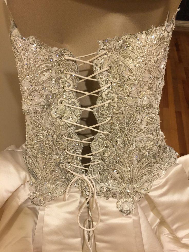 Baracci 'Waste Couture' size 4 used wedding dress - Nearly Newlywed
