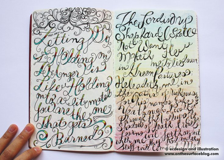 1000 Images About Art Journal Lettering On Pinterest