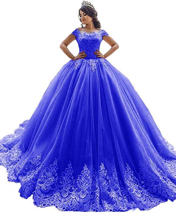b26982a1aadb Amazon.com: xswpl elegante vestido Off el hombro Ball Fiesta Prom ...