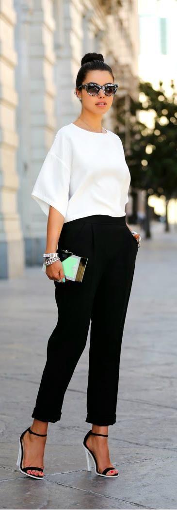 Monochrome Fashion By VivaLuxury