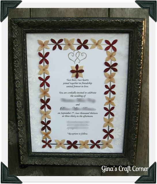 17 best ideas about framed wedding invitations on pinterest wedding keepsakes purple wedding. Black Bedroom Furniture Sets. Home Design Ideas
