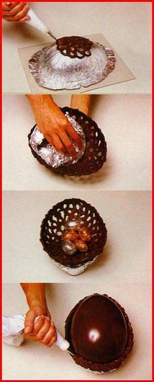 When making this, if you want a THIN container, for best results, use Chocoley…