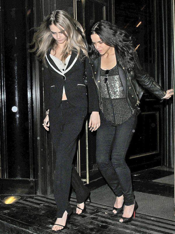 Cara Delevigne & Michelle Rodriguez