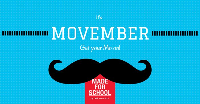 Movember - it's time to move or grow a mo to support Men's health - Natalie