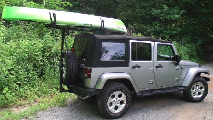 Jeep Kayak Rack For Soft Top Hitchmount Sport