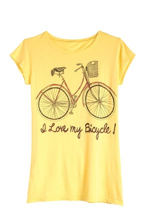 Tell the world you Love your #Bicycle!
