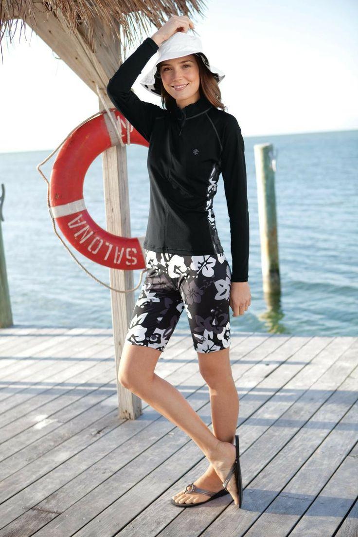 3bedb3a2c5 Sunscreen Swim Shirts For Womens