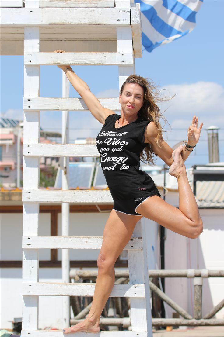 Tshirt Vibes by YAZZ!  www.yazz.gr #yogi #Tshirt #shop #online