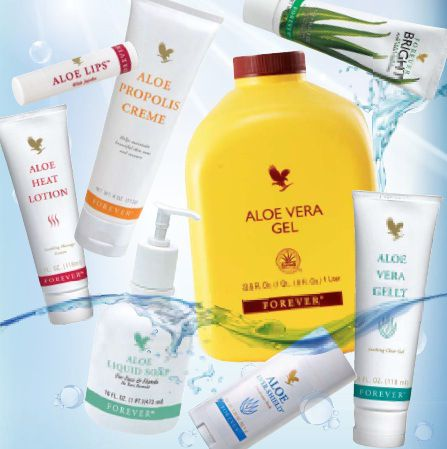 Top selling aloe vera products | Forever Living Products Business Owner