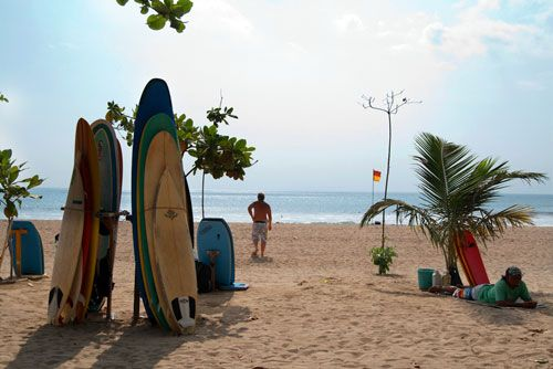 Kuta Beach at Bali