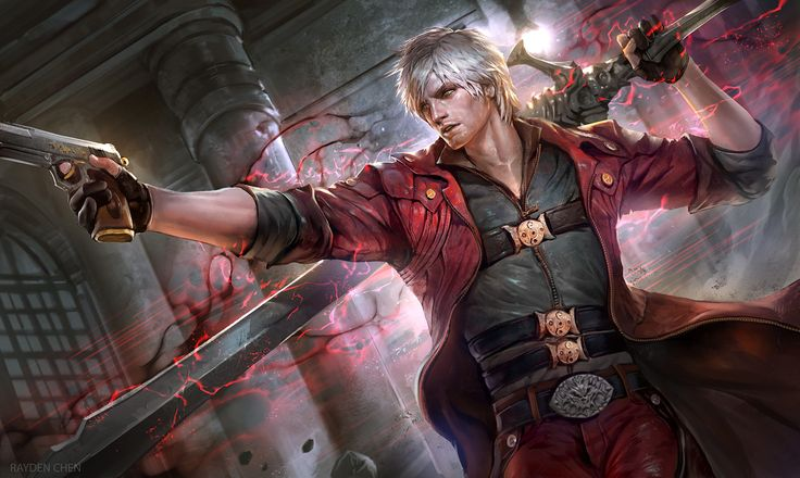 ArtStation - Devil May Cry - Dante , Rayden Chen