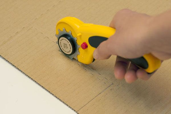A Simple Tool To Perforate Cardboard And Create Clever