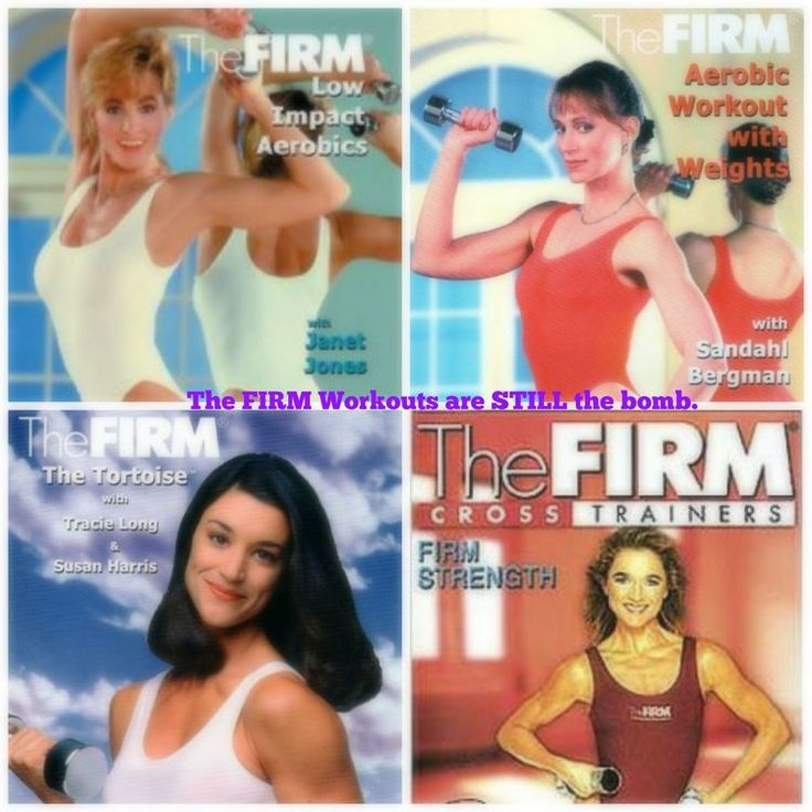The Firm- really got me in to lifting for the first time ever. These workouts, although dated with the outfits (nude hose!) - are KILLER and wonderfully intense.