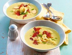 Das Rezept für After-WorkBlumenkohl-Apfel-Suppe und weitere kostenlose Rezepte auf LECKER.de