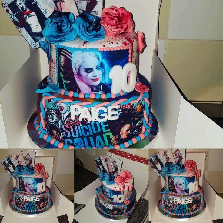 Harley Quinn cake by Lisa sacker
